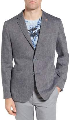Ted Baker Hines Solid Extra Trim Fit Blazer