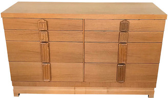 One Kings Lane Vintage Midcentury Mahogany Dresser - Uptown Found