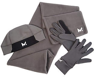 MISSION Mission RadiantActive Men's Scarf, Gloves &Beanie