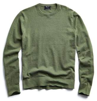 Todd Snyder Cotton Crew Neck in Thyme