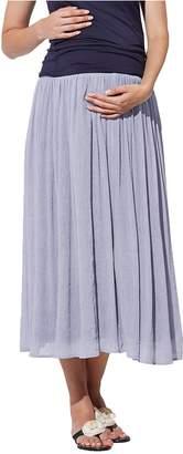 Sweet Mommy Maternity Reversible Maxi Skirt MKIVL