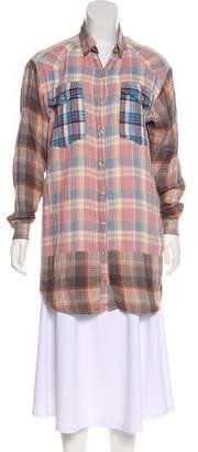 Etoile Isabel Marant Long Sleeve Button-Up Tunic