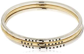 Make A Wish Set Of 3 Bangle Bracelets