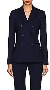 Altuzarra Women's Indiana Virgin Wool Double-Breasted Blazer-Berry Blue