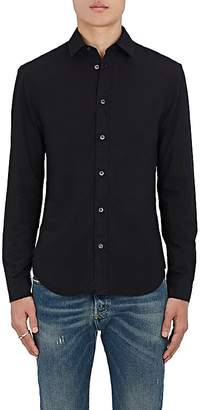 Maison Margiela Men's Cotton Poplin Slim-Fit Shirt