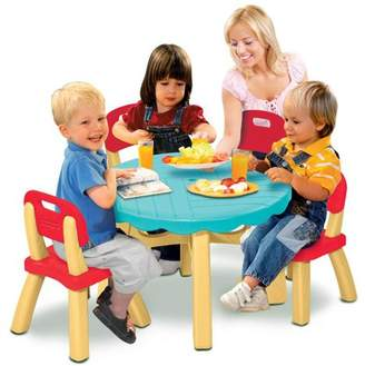 Fisher-Price Summertime Patio Set with 4 Chairs