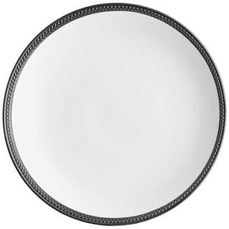 L'OBJET Soie Tressee Black Dinner Plate