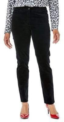 Olsen Mona Slim Velvet Pants