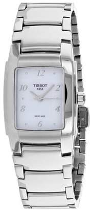 Tissot T-Trend Silver Dial Stainless Steel Ladies Watch T073.310.11.116.00