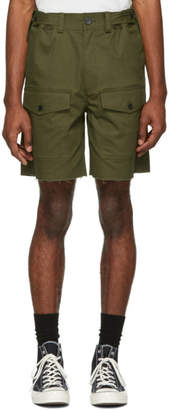 Stolen Girlfriends Club Green Barry Battler Cargo Shorts