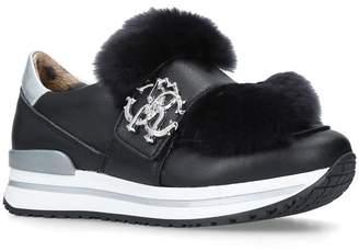 Roberto Cavalli Georgia Fur Sneakers