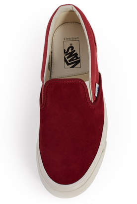 Vans Vault By Suede Canvas OG Classic Slip-On LX Sneaker
