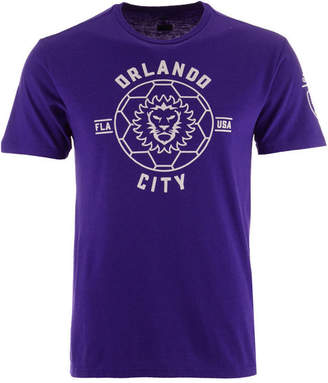 adidas Men Orlando City Sc Linear Icon Tri-Blend T-Shirt