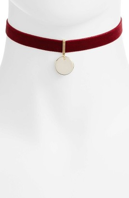 Women's Jules Smith Ruby Pendant Choker $55 thestylecure.com