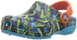 Crocs (クロックス) - [クロックス] クロッグ クラシック トロピカル クロッグ キッズ 204786 Tropical C4(12 cm)