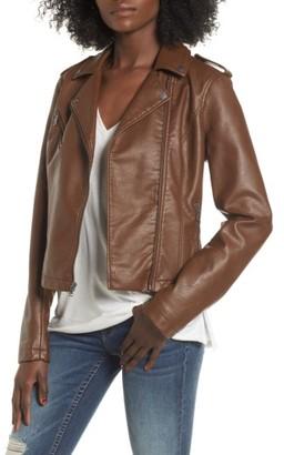 Women's Levi's Faux Leather Moto Jacket $150 thestylecure.com