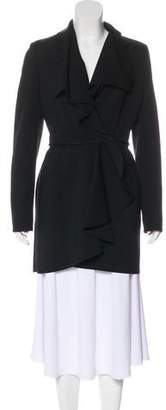 Valentino Knee-Length Wool Coat
