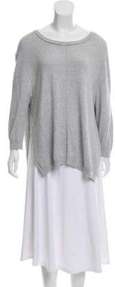 360 Cashmere Long Sleeve Scoop Neck Sweater