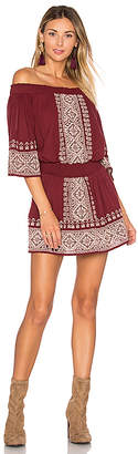 Tularosa Fiona Dress in Burgundy $190 thestylecure.com