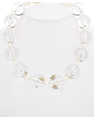 Carolee LUX Barcelona Baubles Bold Ball Necklace