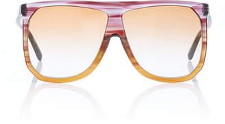 Loewe Sunglasses Filipa Two-Tone Acetate Sunglasses