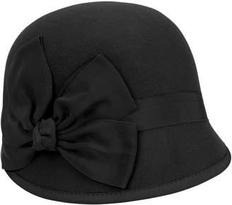 Nine West Felt Wool Cloche Hat