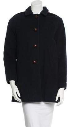 Steven Alan Hooded Wool Coat