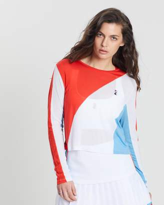 P.E Nation The Spiral Long Sleeve Top