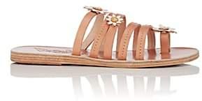Ancient Greek Sandals Women's Victoria Leather Sandals-Beige, Tan