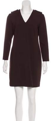 Burberry Long Sleeve Mini Dress