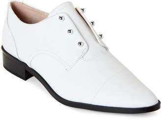 Nine West White Wearable Slip-On Derby Shoes