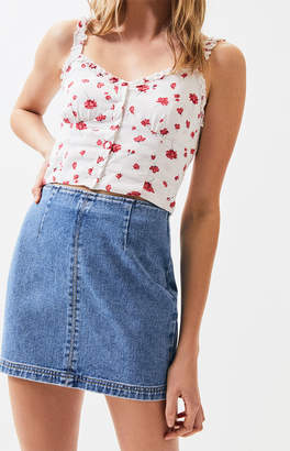 PacSun Fitted Mini Skirt