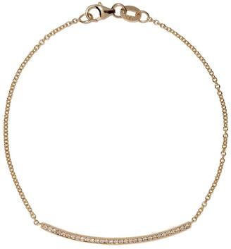 Lizzie Mandler Fine Jewelry Knife Edge ダイヤモンドブレスレット 18Kイエローゴールド