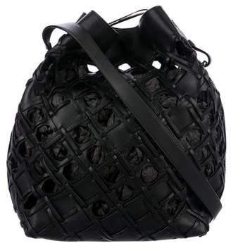3.1 Phillip Lim Cutout Quill Bucket Bag