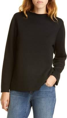 Eileen Fisher Reversible Silk Blend Sweater