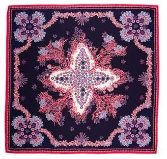 Louis Vuitton Coral Silk Scarf
