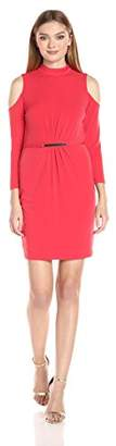 Jessica Simpson Women's Cold Shoulder Dress