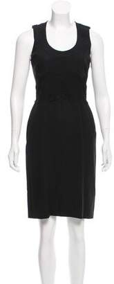 Givenchy Lace-Trimmed Sheath Dress