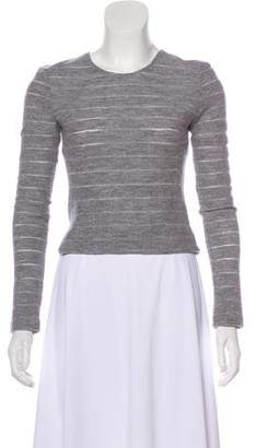 L'Agence Wool Long Sleeve Top