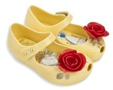 Mini Melissa Baby's, Toddler's & Kid's Ultra Girl Beauty & the Beast Mary Jane Flats $65 thestylecure.com
