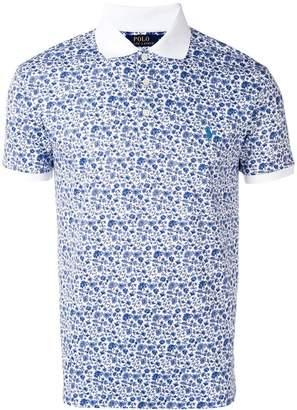 Polo Ralph Lauren floral polo shirt