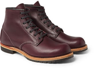 Red Wing Shoes Beckman Leather Boots - Men - Burgundy