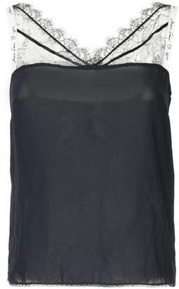 Marc Cain lace neckline top