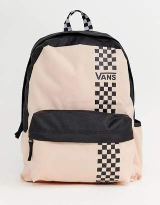 Vans pink good sport realm backpack