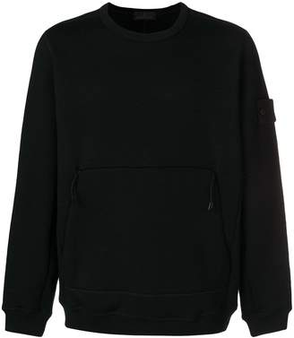Stone Island zip pocket sweatshirt