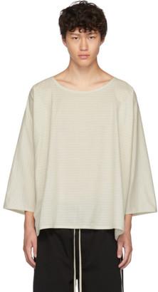 Off-White Jan Jan Van Essche Jan-Jan Van Essche Striped Tunic T-Shirt