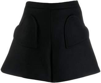 RED Valentino heart-shape pocket shorts