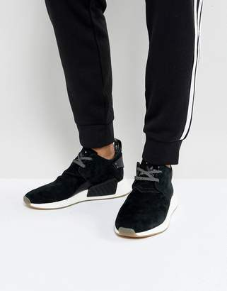 new concept c563b 9e774 adidas NMD C2 Sneakers In Black BY3011