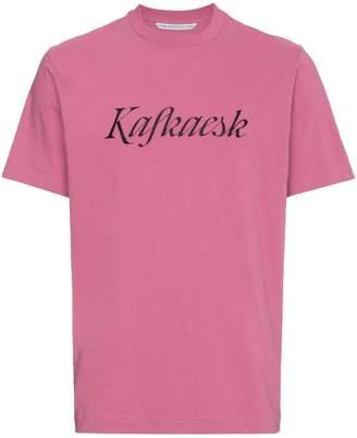 John Lawrence Sullivan Kafkaesk print short sleeve t shirt