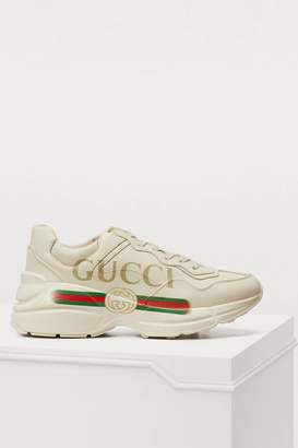 Gucci Rython print sneakers
